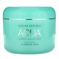 Nature Republic,  Super Aqua Max, Deep Moisture Sleeping Pack, 3.38 fl oz (100 ml)