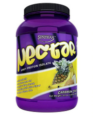 Syntrax Nectar Whey Protein Isolate Powder Caribbean Cooler -- 2 lbs