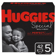 Huggies Special Delivery Baby Diapers Hypoallergenic Size 5 Giga Jr Pack -- 42 Diapers