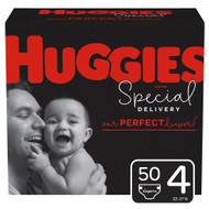 Huggies Special Delivery Baby Diapers Hypoallergenic Size 4 Giga Jr Pack -- 50 Diapers