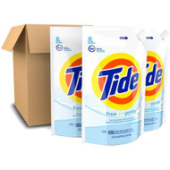 Tide Liquid Laundry Detergent Free & Gentle -- 45 fl oz Each / Pack of 3