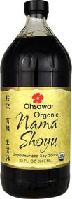 Ohsawa Organic Nama Shoyu -- 32 fl oz