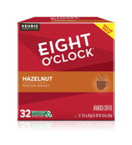 Eight O'Clock Coffee Single Serve K-Cups Hazelnut -- 32 K-Cups