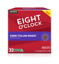 Eight O'Clock Coffee Single Serve K-Cup Dark Italian Roast -- 32 K-Cups