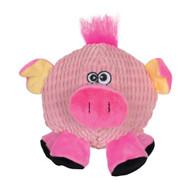 SmartPetLove Tender Tuff Round Pink Pig Dog Toy -- 1 Toy