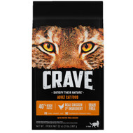 Crave Premium Adult Cat Food Chicken -- 4 lbs