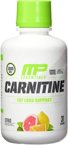 MusclePharm Carnitine Essentials Citrus -- 1000 mg - 31 Servings