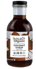 Wildly Organic Coconut Syrup -- 17.5 oz