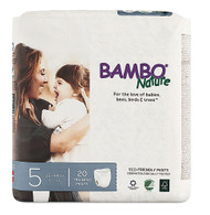 Bambo Nature Training Pants Stage 5 - 26 to 44 lbs -- 20 Diapers