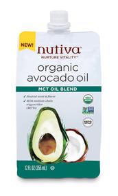 Nutiva Organic Avocado Oil MCT Oil Blend -- 12 fl oz