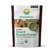 Amazing Grass Organic Grass & Shrooms Powder -- 30 Servings