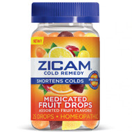 Zicam, Cold Remedy, Medicated Fruit Drop, Assorted Fruit , 25 Drops,Zicam, Cold Remedy, Medicated Fruit Drop, Assorted Fruit , 25 Drops