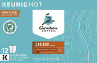 Caribou Coffee Medium Roast K-Cup Pods Caribou Blend -- 12 K-Cups