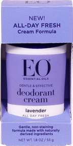 3 PACK of EO Deodorant Cream Lavender -- 1.8 oz