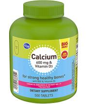 3 PACK of Kroger Calcium 600 mg & Vitamin D3 -- 500 Swabs