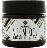 3 PACK of Alaffia Neem Oil -- 0.8 oz