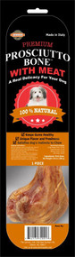Lennox Prosciutto Bone with Meat Treat for Dogs -- 1 Bone