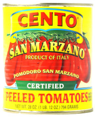 3 PACK of Cento Certified Peeled Tomatoes with Basil Leaf -- 28 oz