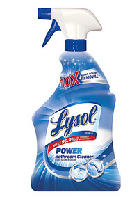 3 PACK of Lysol Bathroom Cleaner - Island Breeze -- 32 Nuts