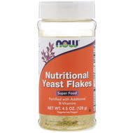 3 PACK OF Now Foods, Nutritional Yeast Flakes, 4.5 oz (128 g)