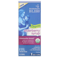 Mommys Bliss, Organic Elderberry Syrup + Immunity Boost, 3 fl oz (90 ml)