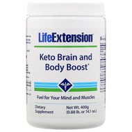 Life Extension, Keto Brain and Body Boost, 14.1 oz (400 g)