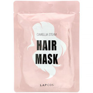 3 PACK OF Lapcos, Hair Mask, Camellia Steam, 1 Mask, 1.18 fl oz (35 ml)