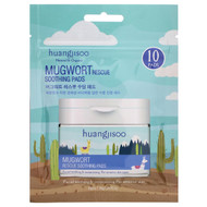 3 PACK OF Huangjisoo, Mugwort, Rescue Soothing Pads, 10 Pads, 1.26 fl oz (36 g)