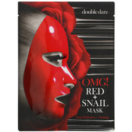 3 PACK OF Double Dare, Red Snail Mask, 1 Sheet, 0.92 oz (26 g)