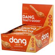 Dang, Keto Bar, Peanut Butter, 12 Bars, 1.4 oz (40 g) Each