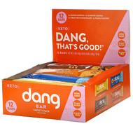 Dang, Keto Bar Variety Pack,  12 Bars, 1.4 oz (40 g) Each