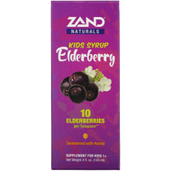 Zand, Kids Elderberry Syrup, 4 fl oz (120 ml)