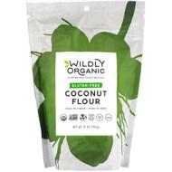 3 PACK OF Wildly Organic, Gluten-Free Coconut Flour, 16 oz (454 g)