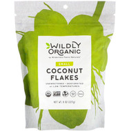3 PACK OF Wildly Organic, Coconut Flakes, Small, 8 oz (227 g)
