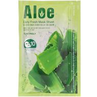Tony Moly, Daily Fresh Mask Sheet, Aloe, 10 Sheets, 10 oz (150 g)