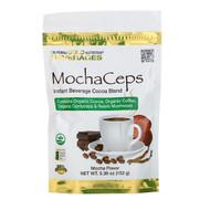 California Gold Nutrition, MochaCeps, Mocha Flavor Instant Beverage with Organic Cocoa, Coffee, Cordyceps and Reishi Mushroom, 5.36 oz (152 g)