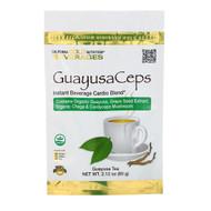 California Gold Nutrition, GuayusaCeps, Cardio Blend Instant Beverage with Organic Guayusa, Grape Seed, Chaga and Cordyceps Mushroom, 2.12 oz (60 g)
