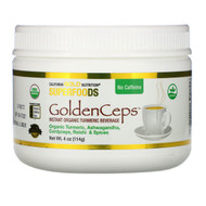 California Gold Nutrition, GoldenCeps, Organic Turmeric with Adaptogens, 4 oz (114 g)