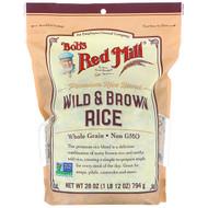 Bobs Red Mill, Wild & Brown Rice, 28 oz (794 g)