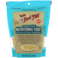 Bobs Red Mill, Large Flake Nutritional Yeast, Gluten Free, 5 oz (142 g)