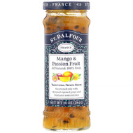 3 PACK OF St. Dalfour, Mango & Passion Fruit, Deluxe Mango & Passion Fruit Spread, 10 oz (284 g)