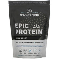 Sprout Living, Epic Protein, Organic Plant Protein + Superfoods, Real Sport, 1.1 lb (494 g)