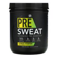 Sports Research, Pre-Sweat Advanced Pre-Workout, Citrus Starter, 14.46 oz (410 g)