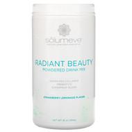 Solumeve, Radiant Beauty, Grass-Fed Collagen, Probiotics & Superfruits Powdered Drink Mix, Strawberry Lemonade, 16 oz (454 g)
