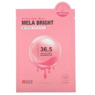SNP, Mela Bright, Active Seal Mask, 5 Sheets, 1.11 oz (33 ml) Each
