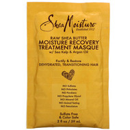3 PACK OF SheaMoisture, Moisture Recovery Treatment Masque with Seal Kelp & Argan Oil, Raw Shea Butter, 2 fl oz (59 ml)