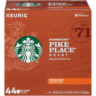 Starbucks Pike Place Roast K-Cup Pack -- 44 K-Cups