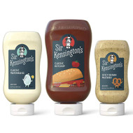 Sir Kensingtons Sample Pack Classic Mayo, Classic Ketchup, Spicy Briown Mustard -- 3 Pack