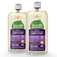 Seventh Generation EasyDose Ultra Concentrated Laundry Detergent Fresh Lavender -- 23 fl oz Each - Pack of 2