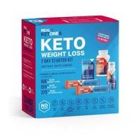 Real Keytones Keto Weight Loss 7 Day Starter Kit -- 1 Kit